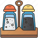 container, pepper, salt, shaker, spice icon