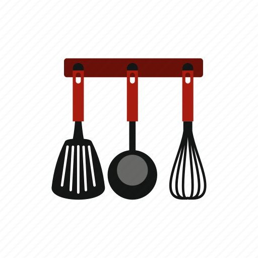 background, collection, cooking, food, kitchen, spatula, utensil icon
