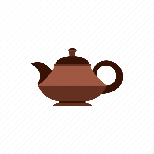 background, drink, element, pot, silhouette, tea, teapot icon