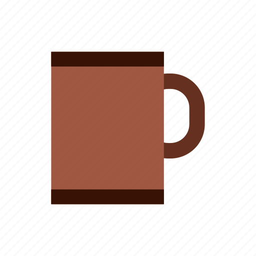 background, brown, cup, drink, hot, mug, tea icon