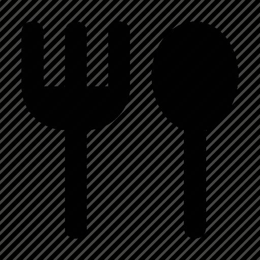 cutlery, fork, silverware, spoon, tableware icon