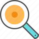 cook, cooking, egg, fried, frying, pan, utensil icon