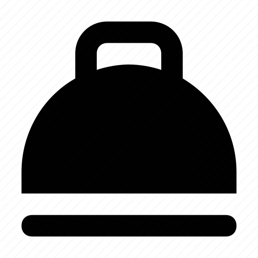 cloche, cover food, food, food service, restaurant cloche icon