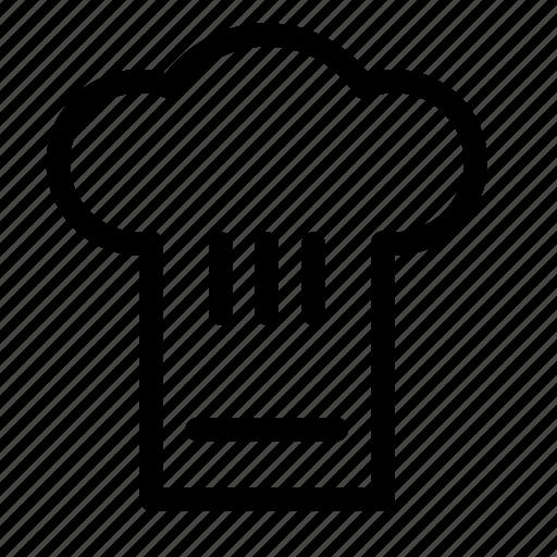 chef, equipment, food, hat, kitchen icon