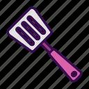 cooking spoon, kitchen utensils, restaurant, spatula, spoon icon