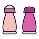 containers, cooking, salt, spice, utensil icon