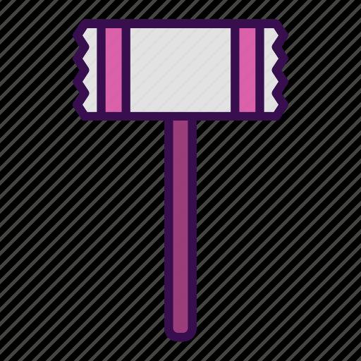 cooking, hammer, kitchen, steak, tool icon