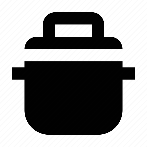 casserole, cooking pot, cookware, kitchen utensil, saucepan icon