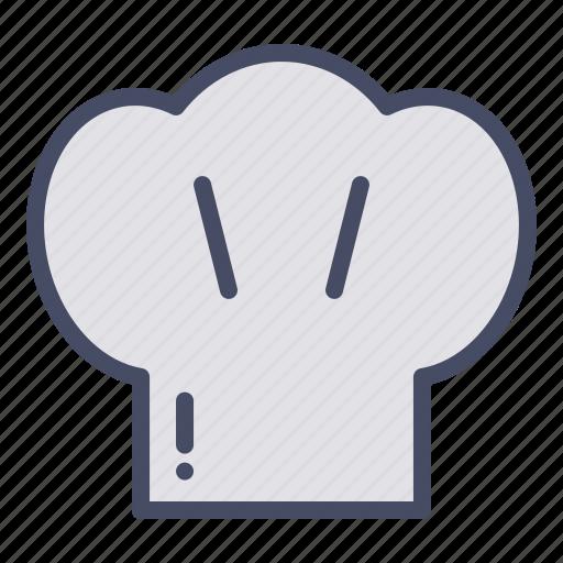 cap, chef, cook, kitchen, restaurant, wear icon
