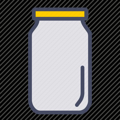 bottle, container, jar, kitchen, pickle, store, utensil icon