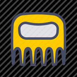 kitchen, meat, shredder, utensil icon