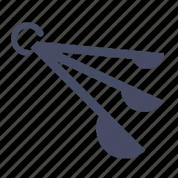 control, kitchen, measure, measuring, portion, spoon, spoons icon