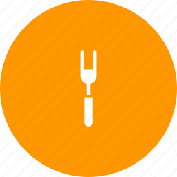 carver, cutlery, fork, meat, shrimp, tableware, utensil icon
