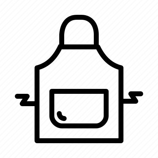 apron, cook, kitchen, restaurant, safety, wear icon