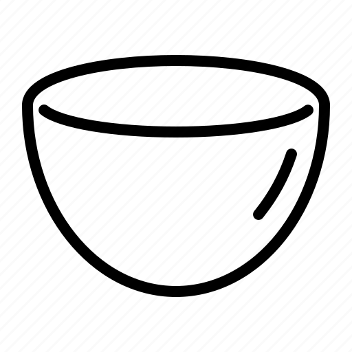 bowl, cup, drink, kitchen, soup, vessel icon