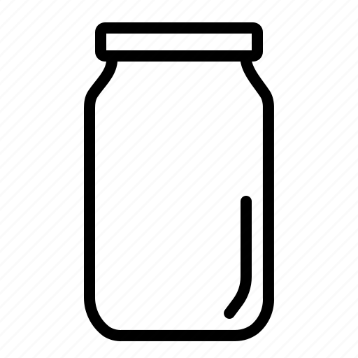bottle, container, jar, kitchen, pickle, store, utensil icon