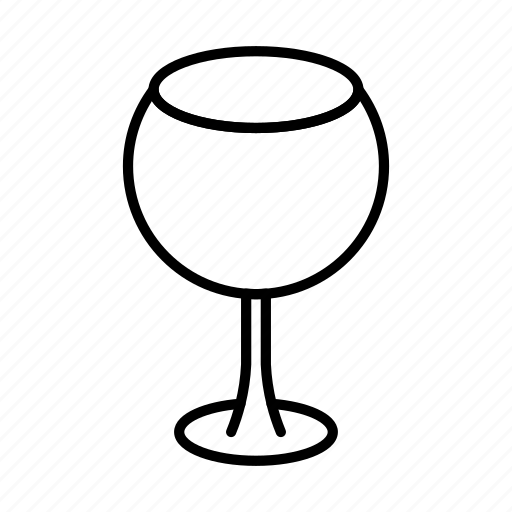 drink, glass, goblet, wine, wineglass icon