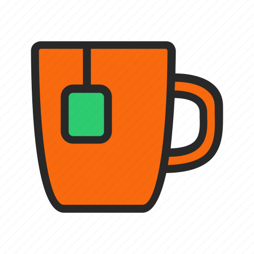 cup, drink, food, hot, kitchenware, tea icon