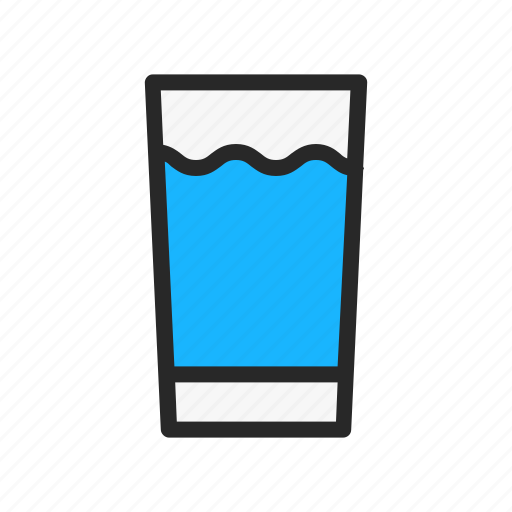drink, glass, kitchenware, magnifier, magnifying icon