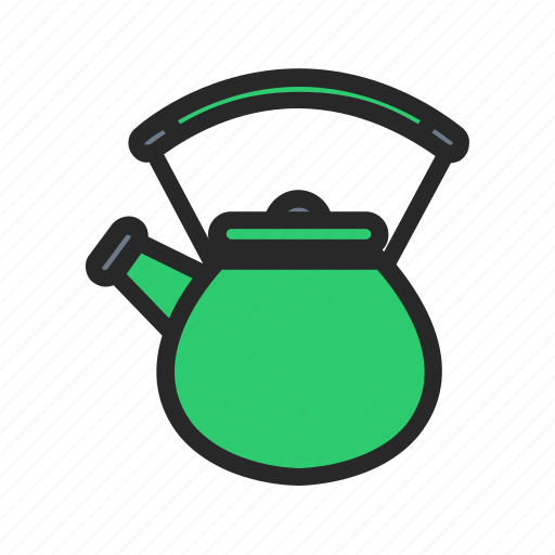 kettle, kitchen, kitchenware, tea icon