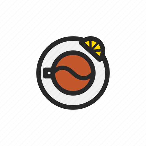 coffee, cup, drink, food, hot, kitchenware, tea icon