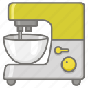 appliance, baking, blender, cake, food, mixer, processor icon