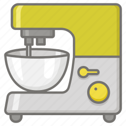 appliance, baking, blender, cake, food, mixer, processor icon
