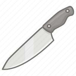 blade, butcher, carving, chopping, cutting, knife, meat icon
