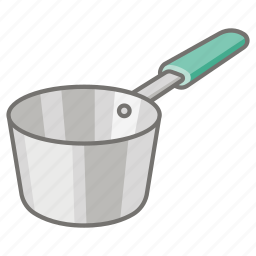 cook, cooking, kitchenware, pot, sauce, saucepan, saucepot icon