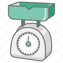 food, ingredient, kitchen, kitchenware, measure, scale icon
