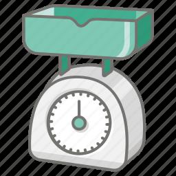 food, ingredient, kitchen, kitchenware, measure, scale icon