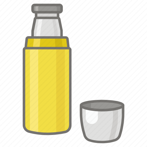 coffee, flask, insulated, thermos, vacuum icon