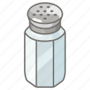 condiment, pepper, pot, salt, shaker icon