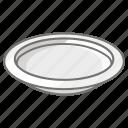 basin, bowl, dinner, plate, serving