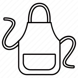 apron, chef, cooking, garment, kitchen, protective icon