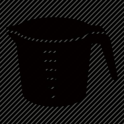 cooking, cup, ingredient, measure, measurement, measuring icon