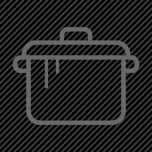 cook, food, kitchen, kitchenware, pot, restaurant icon