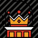 crown, king, kingdom, princess, queen, royal, leader