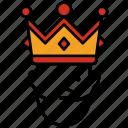 crown, king, medieval, prince, royal, kingdom
