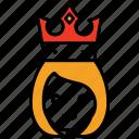 crown, medieval, princess, queen, royal, kingdom, lady