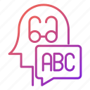 abc, basic, knowledge, knowledge and education, school icon