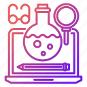 equipment, knowledge and education, learning, online, tools icon