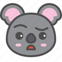 australia, avatar, cute, doubt, face, koala