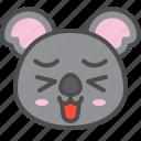australia, avatar, cute, face, happy, koala