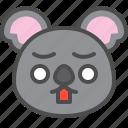 australia, avatar, cute, face, koala, shocked