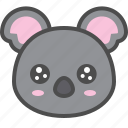 australia, avatar, cute, face, koala, pity
