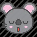 australia, avatar, cute, face, koala, relieved