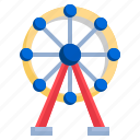 ferris, wheel, architecture, city, wheels, funfair