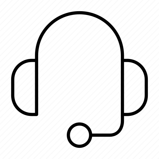 call, customer, headphone, headset, service icon