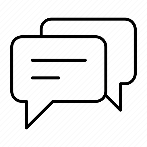 answer, chat, forum, message, question icon